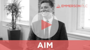 Hayden Locke, CEO of Emmerson PLC in an investor relations video for Five Minute Pitch TV